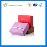 ULTRAVIOLETA de lujo impresa crean el rectángulo del perfume para requisitos particulares de la cartulina (con la pieza inserta cortada con tintas EVA)