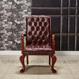 Presidenza di legno di svago di stile dell'annata con il re Thrones Chair Shape (SP-HC059)