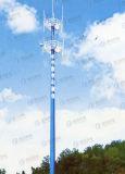 Unipolaire de télécommunication en acier de Customed