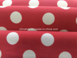 운동복 (HD1401023)를 위한 직물을 인쇄하는 빨간 백색 점