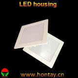 Cubierta cuadrada de la luz del panel del LED para 10 vatios
