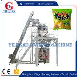 Machine à emballer de riz d'haricots de pommes chips de casse-croûte