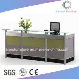Excellents meubles en bois de Tableau de réception de bureau d'extrémité