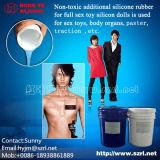 Silicone liquido per la fabbricazione di gomma artificiale delle bambole dell'adulto e della vagina