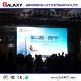 Afficheur LED P6 de location d'intérieur pour la location, événement