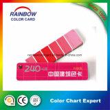 Configuración que cubre la tarjeta estándar de Fandeck del color