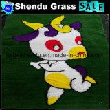 Esteira sintética do gramado das vendas por atacado para o assoalho ao ar livre