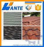 Mattonelle di tetto rivestite del metallo della bella di apparenza di prezzi bassi pietra di colore