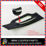 Nagelneuer ABS seitlicher Stirnwand-Plastikdeckel-geschützte seitlicher Lampen-Deckel-kleine Chequered UVart für nur Mini Cooper-Landsmann (2 PCS/Set)