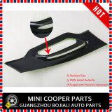 Da tampa lateral da lâmpada da tampa lateral plástica brandnew do Scuttle do ABS estilo Chequered pequeno protegido UV para o compatriota de Mini Cooper somente (2 PCS/Set)