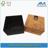 Empacotamento feito sob encomenda da caixa de cereal do produto comestível de recipiente de papel da grão do cartão