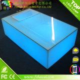 Vert Rouge Bleu Jaune Blanc Couleur Changing Plafonnier en plastique Table basse à LED