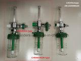 中心にされた医学の酸素供給システムのための医学の酸素の流量計
