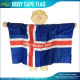 Bandeira do cabo/bandeira do corpo/bandeira dos ventiladores/bandeira dos esportes/Poncho bandeira de América (J-NF07F02024)