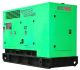 50Hz 84kw Soundproof Cummins Engine Gas Generator Set