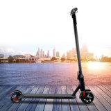Lecteur à roues avant motrices scooter électrique pliable de coup-de-pied de 6 pouces