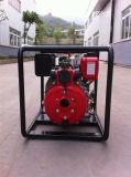 ディーゼル機関の携帯用水ポンプ