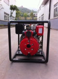 Bomba de agua portable del motor diesel