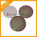 Obiettivo ottico fotocromico superiore rotondo Hc di 1.56 semifiniti Brown