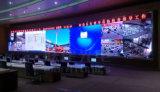Kleines Pixel P1.61 farbenreiche LED-Innenbildschirmanzeige für örtlich festgelegte Installation