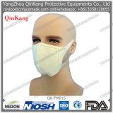 Pp médicaux chirurgicaux remplaçables plient le masque plat