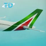 Aeroplano di modello del giocattolo della resina del Alitalia A330-200 1/100
