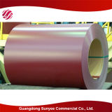 Основное качество Prepainted Hot-DIP гальванизированная стальная катушка