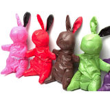 Нейлон складной многоразовые сумка с кроликом Стили