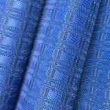 400d Cioccolato-Tipo tessuto del PVC Oxford del jacquard della grata per bagagli