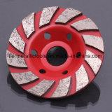 Абразивный диск диаманта вырезывания формы чашки полируя для камня