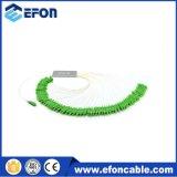 Fabricação Supply CATV 1 * 64 Bare Fiber PLC Splitter com Fibra Fibra Saídas