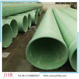 La fibra de vidrio de FRP abajo transmite el tubo de las aguas residuales del agua GRP