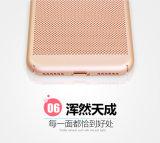 Perfeccionar la caja dura ultra fina del teléfono de la parte posterior de la PC de la radiación térmica del acoplamiento del ajuste para el iPhone 6