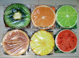 ¡Venta caliente! Rectángulo de almacenaje plegable redondo del diseño de la piña de la fruta con el taburete