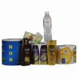 Collant auto-adhésif de haute qualité d'étiquette estampé par vente chaude pour le module de shampooing