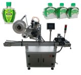 Máquina de etiquetado plana neumática Semi-Auto de la etiqueta engomada de la botella