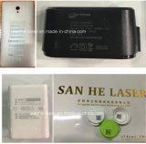Bewegliche Laser-Markierungs-Maschine der Fliegen-20wfiber für Telefon-Shell und Ringe