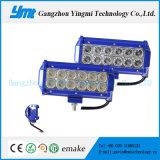 点の洪水のビームのための12PCS*3Wクリー族LED作業ライトバー