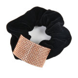 Hair Scrunchie com strass