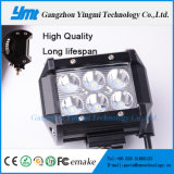 18W lampada automatica del lavoro di rendimento elevato LED per fuori strada