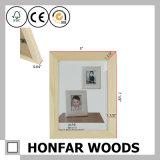 Cadre de tableau en bois de pin avec le vernis pour la décoration à la maison