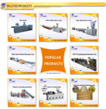 Extruder die van het Product van het breed-Venster van het Profiel van pvc WPC de Plastic de Lijn van de Machine maken