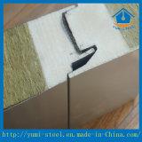"""Panneaux """"sandwich"""" en métal de laines de roche de cachetage d'unité centrale avec SGS&ISO9001"""