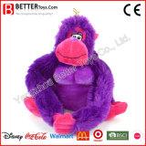 Kundenspezifisches buntes angefüllte Tier-weiches Plüsch-Gorilla-Spielzeug