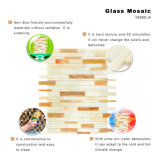 Het milieu Mozaïek van het Glas van de Tegel van de Keuken van Bouwmaterialen Gekleurde
