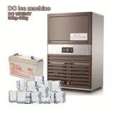machine de générateur de glace de C.C 12/24V avec l'énergie solaire facultative