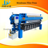 Automatische 1000X1000 pp Membrane Filter Press Used in Foodstuff