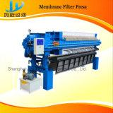 Filtropressa automatica della membrana con il dispositivo di sicurezza differente di molti generi