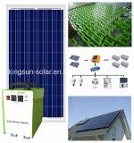 Sistema eléctrico solar del hogar del panel solar de la apagado-Red 1000W
