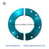 Peça não padronizada de alumínio / metais Peça CNC Placa redonda para motocicleta